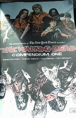 The Walking Dead Compendium One 1 Book Free Uk Postage