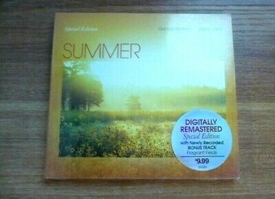 Summer by George Winston (CD, Special Edition, bonus tracks, Windham Hill) NEW