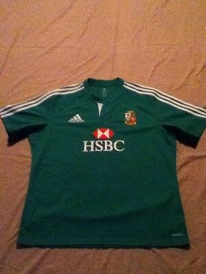 British and Irish lions training jersey large