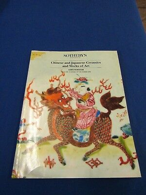 Sotheby's Chinese Japanese Ceramics and Works of Art Amsterdam 16 October 1990