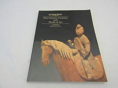 Sotheby's Fine Chinese Ceramics and Works of Art London 7th June 1994 Catalogue