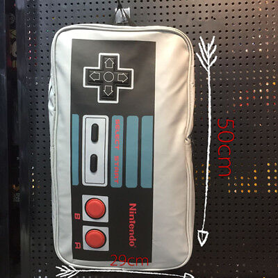 89fa81cfe4bb Nintendo NES Controller Leather Sports Messenger School Backpack Bag