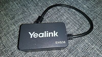 Yealink EHS36 Electronic Hook Switch Wireless Headset Adaptor for IP Phones