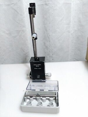 Haag Streit Applanation Tonometer  R900 H03 working w/calibration bar