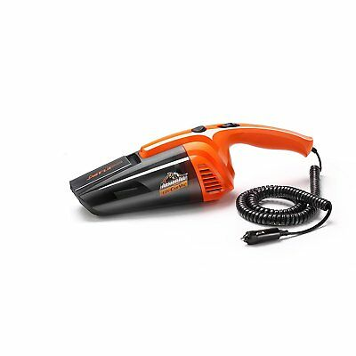 Armor All 12V Car Vacuum AA12V1 0901 Auto Handheld Vac For Wet and Dry w/ Bag