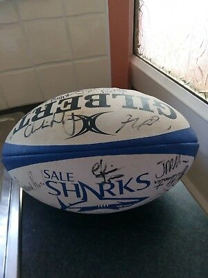 Sale Sharks Squad Autographed Full size Ball