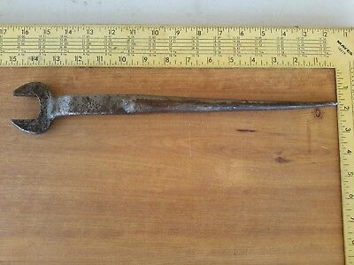Vintage Spud Wrench Steel Workers Wrench 5/8