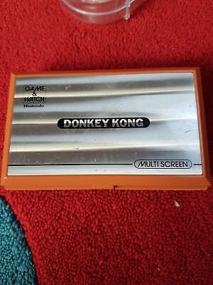 nintendo game and watch donkey kong loose and used