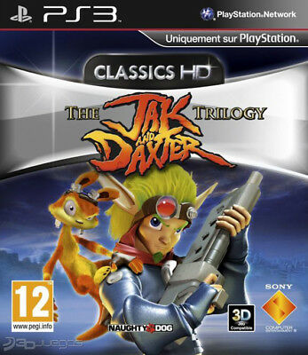 jak and daxter trilogy para PS3