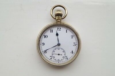 1st WW interest : Gold Plated Pocket Watch : 21st B'day gift : Power - Sth Lancs