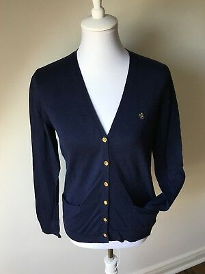 Ralph Lauren Strickjacke in Marineblau Gr.M