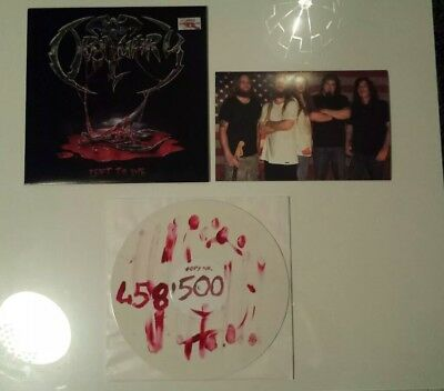 OBITUARY - LEFT TO DIE - BLOODY VINYL - Death Metal - NIGHT OF THE VINYL DEAD