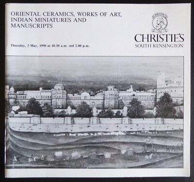 Christie's South Kensington Oriental Ceramics and WOA May 3, 1990 Chinese