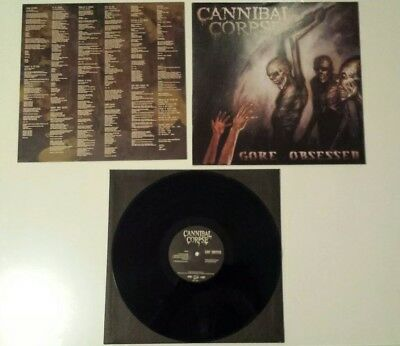 CANNIBAL CORPSE - Gore obsessed - 1ST PRESS Death Metal Vinyl - Slayer, Sodom..