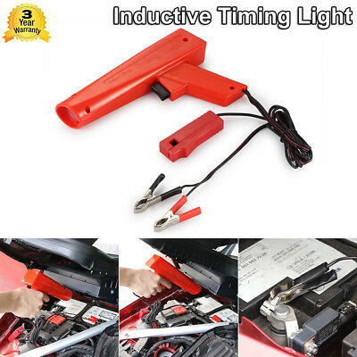 Red Portable DC12V Car Off-Road Timing Light Gun Tester Ignition Inductive Xenon