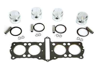 Honda CB750 750K 69-78 836cc 65mm Big Bore 4-Piston Kit- with Head Gasket NEW