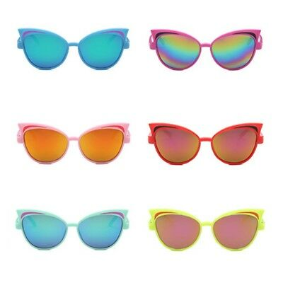 Kids Sunglasses Children Reflective Random Color PC Fashion UV400 Colorful Gifts