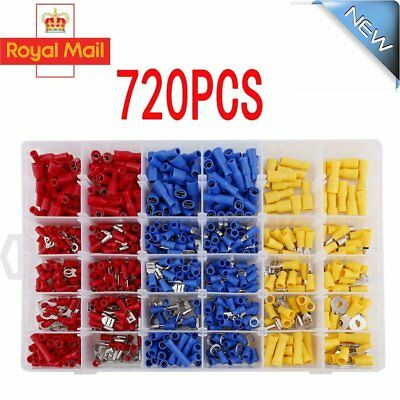 Car Wire Electrical Terminals Crimp Connectors Heat Shrink Tube Sleeving Cable U