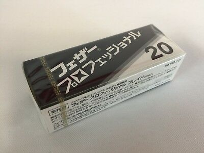 Feather Professional Blade PB-20 Replacement Blade for artist club Razor Japan
