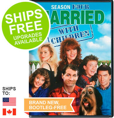 Married with Children Complete Season Four 4 (DVD, 2014) NEW, Sealed