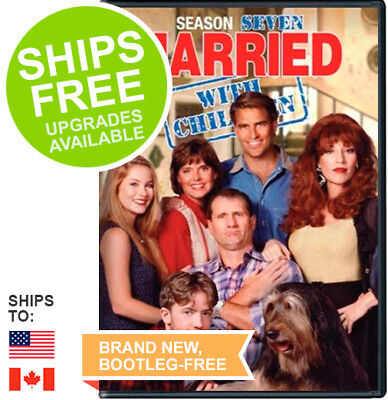 Married With Children Complete Seventh Season 7 (DVD, 2015) NEW, Sealed