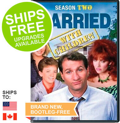 Married with Children Complete Season 2 Two (DVD, 2015) NEW, Sealed