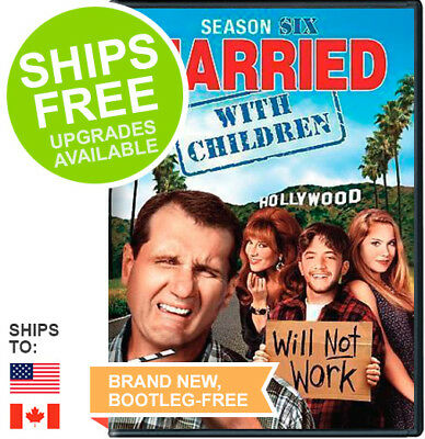 Married with Children Complete Season Six 6 (DVD, 2015) NEW, Sealed