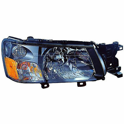For 2003 2004 Subaru Forester Rh Right Penger Headlamp Headlight Embly