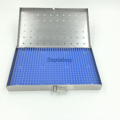 Stainless steel sterilization tray case Middle Size Dental surgical instrument