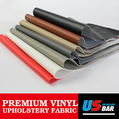 "54""W Automotive Boat Marine Outdoor Replace Vinyl Fabric Upholstery Faux Leather"