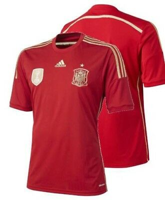 Spain Spain Adidas Soccer Football T-Shirt Shirt short sleeves Worldwide 2014