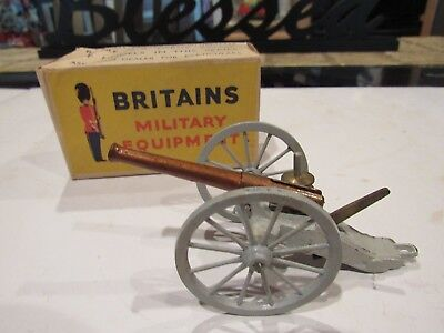 W BRITAIN UNION ARTILLERY No. 2057 AMERICAN CIVIL WAR MADE IN ENGLAND WITH BOX