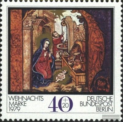 Berlin (West) 613 (complete issue) FDC 1979 christmas