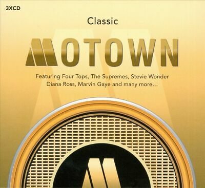 Various Artists: Classic Motown 3x CD (Greatest Hits / The Very Best Of)
