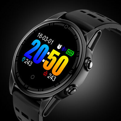 Bluetooth Smart Watch Fitness Blood Pressure Sleep Monitor for iPhone Samsung LG