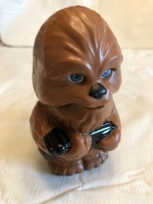 Star Wars Chewbacca Figurine With Flashlight In Mouth