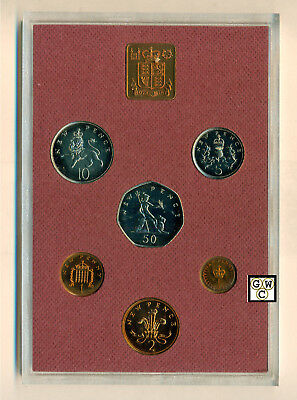 1979 Coinage of Great Britian & Northern Ireland 6 Coins Proof Set (OOAK)
