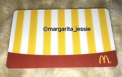McDonald's 2013 ARCH GIFT CARD FRENCH FRIES NO VALUE CANADA NEW COLLECTIBLE
