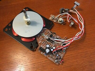 Sony PS-T25 Turntable Parts - Motor w/ Circuitry