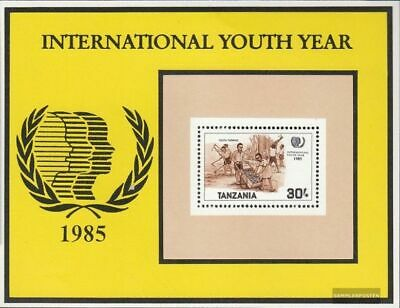 Tanzania block48 (complete issue) unmounted mint / never hinged 1986 Year the Yo