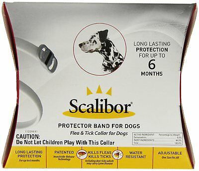 scalibor fleas and tick collar for dogs