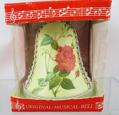 Deichert KG Musical Bell Plays Happy Birthday Made Western Germany Cloth Cover