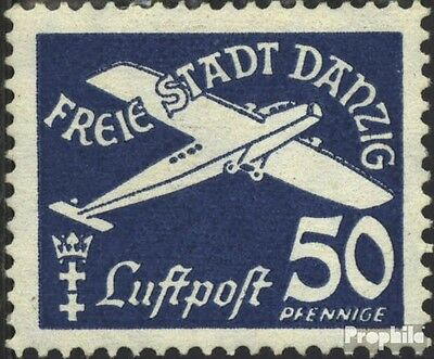Gdansk 301 used 1938 Airmail