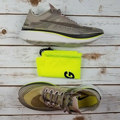 afe2cea4e3fc4 NIKE Nikelab Zoom Fly SP Sepia Stone Running Shoe AA3172 201 - Men 11 New
