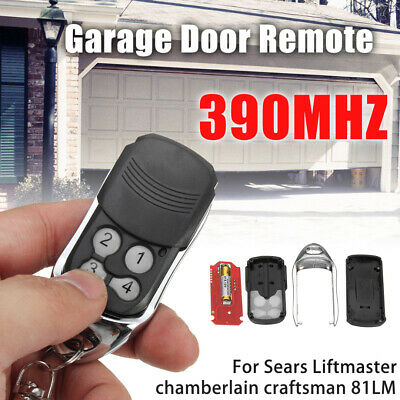 390MHz Garage Door Gate Remote Control Key For Sears Liftmaster Chamberlain 81LM