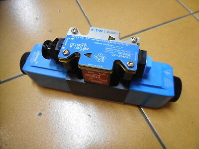 VICKERS DIRECTIONAL CONTROL VALVE - 24VDC Coils -- DG4V-3-2A-M-S4-FPA5W-D1-H2-60