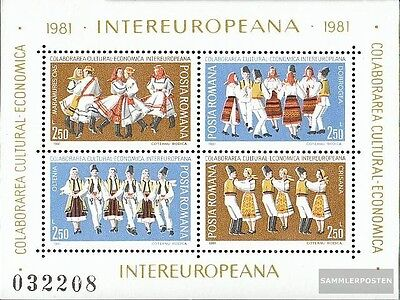 Romania block179 (complete issue) unmounted mint / never hinged 1981 Communist P