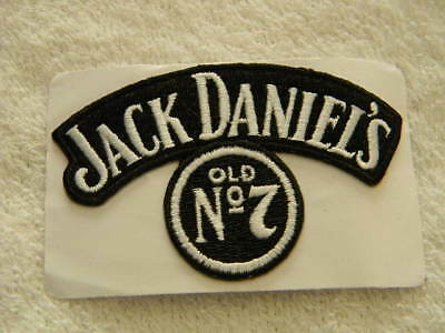 Jack Daniel's logo patch- Old No. 7- adhesive backing- New