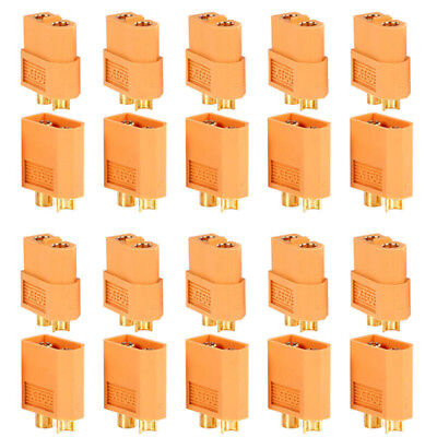 20PCS 10 Pairs XT60 Male Female Bullet Connectors Plugs For RC Lipo Battery OH