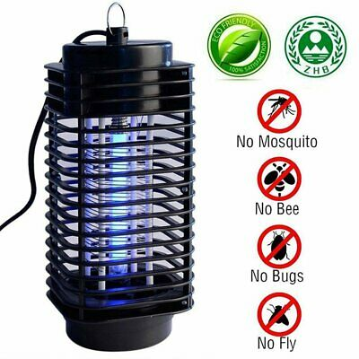 Electrionc UV Light Mosquito Killer Fly Bug Insect Zapper Trap Catcher Lamp UK D